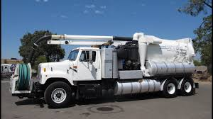100 Vactor Trucks For Sale 2001 International 2574 2110 PD Combination Sewer Cleaner For