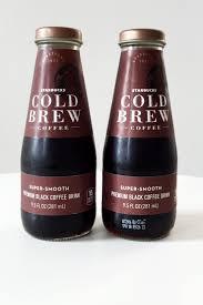 Starbucks Bottled Cold Brew Review Popsugar Food