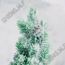 Sheng Mf Pine Needle Christmas Pine Tree Snow Christmas Decorations