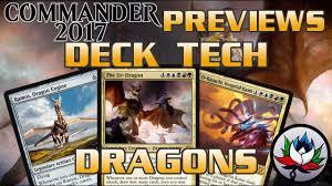 artifact deck mtg 2017 draconic commander 2017 deck tech and upgrades