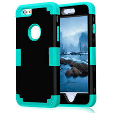 Shockproof Hybrid Hard Rubber Impact Armour Cases For iPhone 5 5S