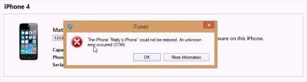 Fix iTunes Error 3194 While Update or Restore iPhone iPad