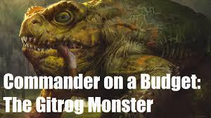 commander on a budget the gitrog monster vs ib halfheart goblin