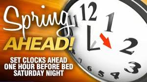 """Don t for to """"spring ahead"""" into Daylight Saving Time this"""