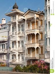 100 Triplex Houses The Old Fashioned House Editorial Image Image Of