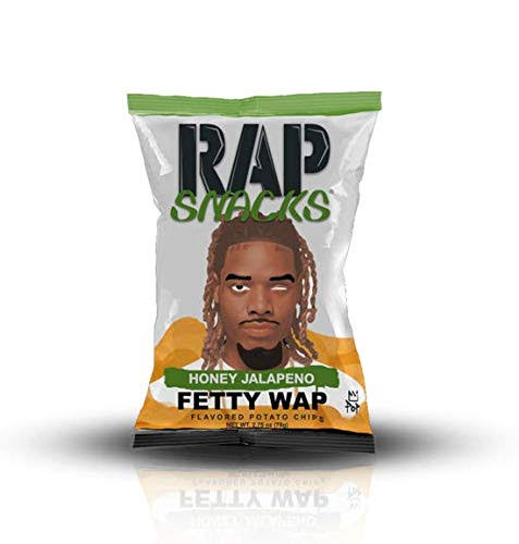 Rap Snacks Fetty WAP Honey Jalapeno 48 ct per Case, 1oz Bags