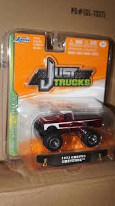 100 Just Trucks 1972 72 Chevrolet Chevy Cheyenne Pickup Truck Red With White