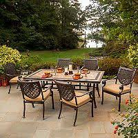 Sams Patio Dining Sets by Member U0027s Mark Annapolis 7 Pc Cast Aluminum Patio Dining Set With