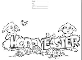Happy Easter Coloring Pages Printable