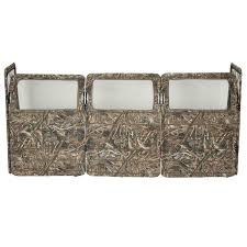 Portable Pop Up Ground Camo Blind Hunting Enclosure Hunting Blinds