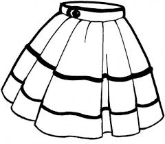 Clothes Coloring Pages