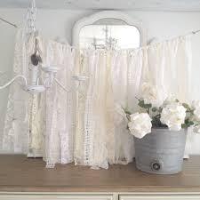 lace wedding garland shabby chic decor diy by denadanielledesigns