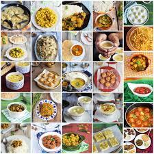 journey through cuisines a to z bengali recipes recap