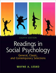 Readings In Social Psychology General Classic
