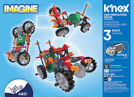 Amazon.com: K'NEX Imagine 4WD Demolition Truck Building Set (Pieces ...