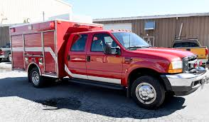 100 Ford Fire Truck SOLD 2001 Pierce Light Duty Rescue Command Apparatus