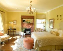 Decorating With Yellow Walls Living Room Traditional Bedroom Ideas