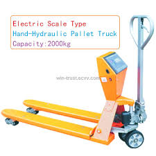 100 Hydraulic Hand Truck Electric Scale Pallet Purchasing Souring Agent