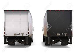 100 Refrigerator For Truck Black And White S Side By Side Back View Stock