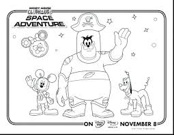 Mickey Mouse Clubhouse Coloring Pages Free Colouring Online Christmas Printable