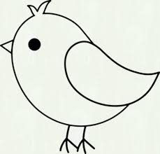 Draw Tweety Cartoon Easy Bird Coloring Pages Fresh