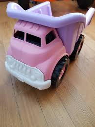 Purple Pink Dump Truck, Babies & Kids, Toys & Walkers On Carousell