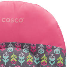 simple fold high chair floral pop cosco kids