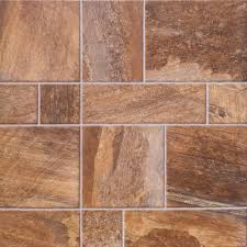 Laminate Flooring With Pre Attached Underlayment by Innovations Amber Random Slate 8 Mm Thick X 15 1 2 In Wide X 46 1