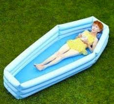 Coffin Kiddie Pool Makes The Summer Deadly Fun