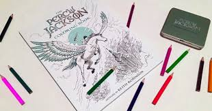 New Percy Jackson Coloring Book And Give Away