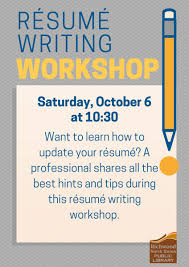 Résumé Writing Workshop | Richwood-North Union Public Library Resume Writing For High School Students Olneykehila Resumewriting 101 Sample Rumes Included Carebuilder Step 1 Cover Letter Teaching English In Contuing Education For Course Columbia Services Nj Beyond All About Professional Service Orange County Writers Resume Writing Archives Rigsby Search Group Triedge Expert Freshers Hot Tips Rsumcv Writing 12 Things For A Fresher To Ponder Writingsamples Cy Falls College Career Center