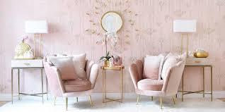 velvet lounge aus rosa muschelsesseln instashop