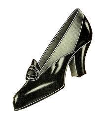 Vintage Shoe Clipart