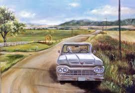 100 1960 Truck A Montana Artists Ford Pickup WSJ