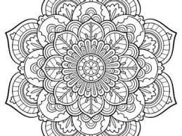Flower Mandala Coloring Pages Best 25 Printable Ideas On