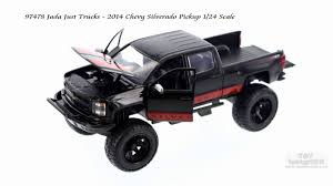 97478 Jada Just Trucks 2014 Chevy Silverado Pick-up 1/24 Scale - YouTube