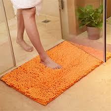 fansu chenille matte badezimmer rutschfest badvorleger weich badteppich waschbar duschvorleger aus chenille mikrofaser waschbar badewanne matten