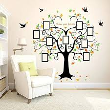 wandsticker4u wandtattoo familienbaum wand stammbaum
