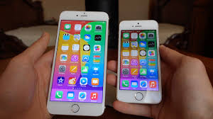 iPhone 5S vs iPhone 6 Plus FR