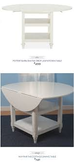 Pottery Barn Shayne Drop Leaf Kitchen Table $499 - Vs - Wayfair ... Ding Rustic Kitchen Table Sets Pottery Barn Chairs Set Bench Banquette Seating Best Wooden Aaron Wood Seat Chair Uncategorized Small Style Living Room Tables Table Pottery Barn Shayne Kitchen Shayne Centerpieces Traditional With Large Benchwright A Creative Begning Islands 100 Images Classic Design Toscana Extending Rectangular 47