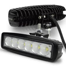 100 Work Lights For Trucks 10pcs 6inch 12V 18W LED Tractor Truck Work Lights SpotFlood 18W LED