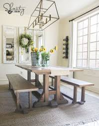 Awesome Pottery Barn Dining Room Table 49 Best Diy Bench