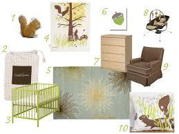 Woodland Themed Nursery Bedding by Modern Nursery Buymodernbaby Com