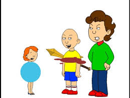 caillou makes rosie fat assaulted youtube