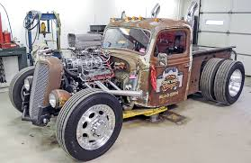 100 Rat Rod Semi Truck HOT ROD Rescue A 4000Lb 383 Chevy Wont Burnout Hot