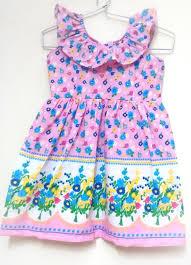 blue kids summer frock 5yrs shophandmades