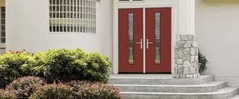 Therma Tru Entry Doors by Entry Door Swing Steel Semi Glazed Pulse Therma Tru Doors