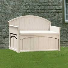 Suncast Patio Storage Box by Suncast 50 Gallon Patio Storage Bench Deck Box Suncast Patio