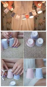 Decorate Your Room 3Paper Cups Light
