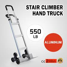 Aluminum Hand Trolley Stair Climbing Truck Heavy Duty Wheel Climber ...